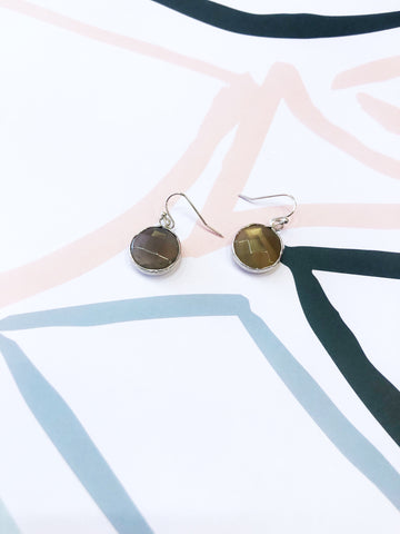 Fawn Quartz Drop Earrings