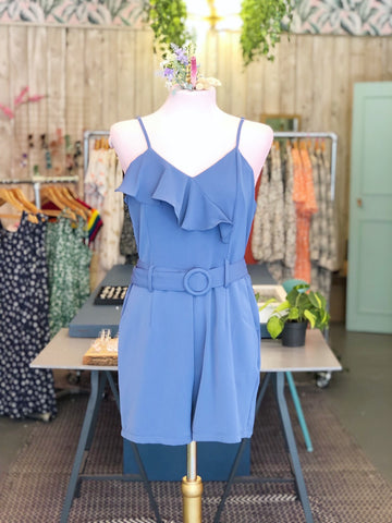 Slate Blue Playsuit