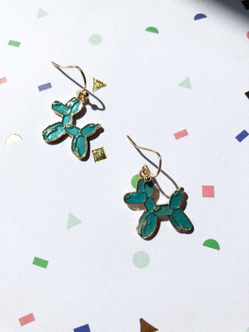 Balloon Dog Earrings