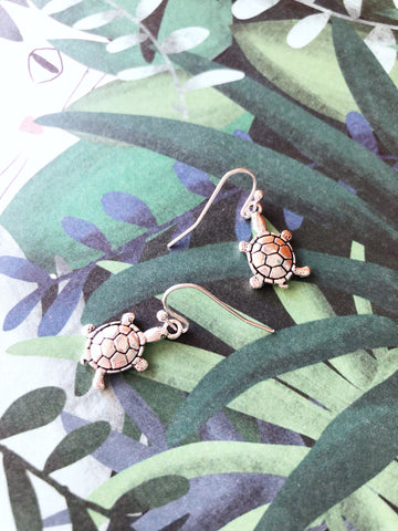 Timmy Tortoise Earrings