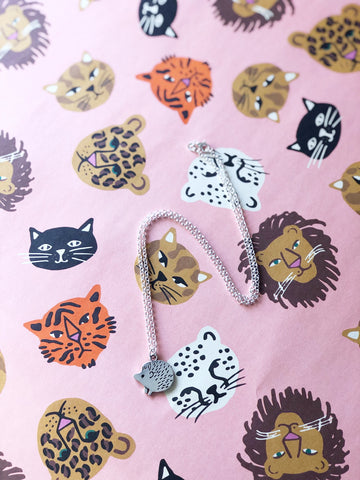 Harriet Hedgehog Necklace