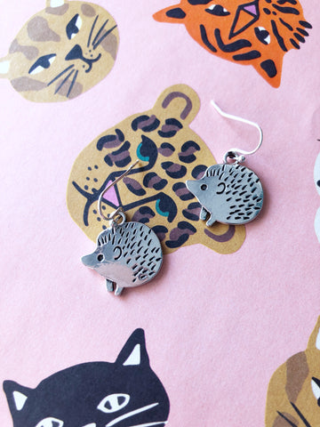 Harriet Hedgehog Earrings