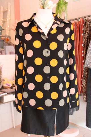 Multi Coloured Spots Shirt