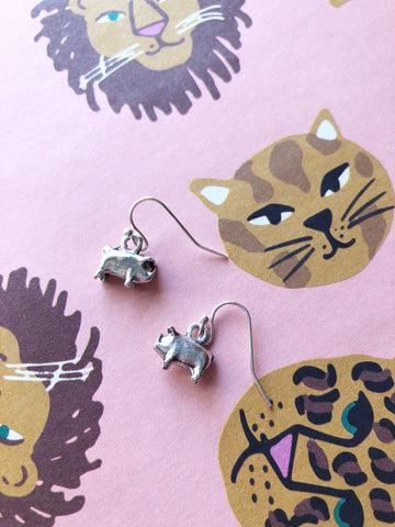 Two Little Piggies Earrings