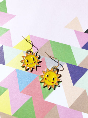 Cutie Sun Earrings