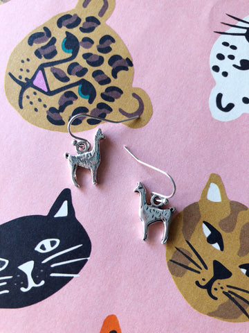 Lizzy Llama Earrings