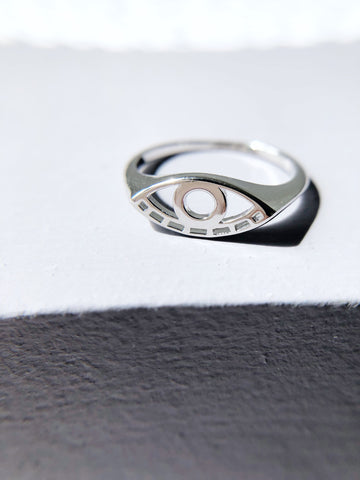 All Seeing Eye Signet Ring