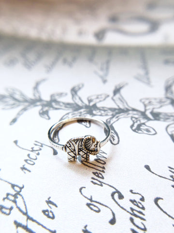 Little Indian Elephant Ring