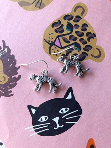 Lionel Leopard Earrings