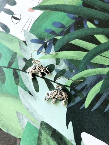 Exotic Elephant Earrings