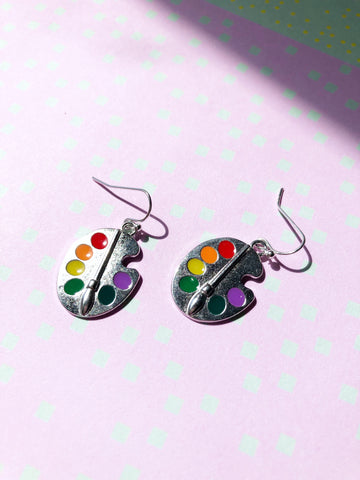 Painter's Palette Earrings