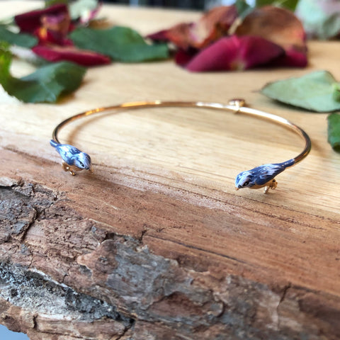 Blue Tit Bangle