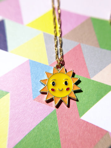 Cutie Sun Necklace