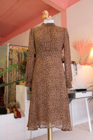 Leopard Haze Dress