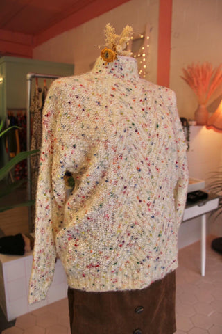Cream Birthday Cake Jumper