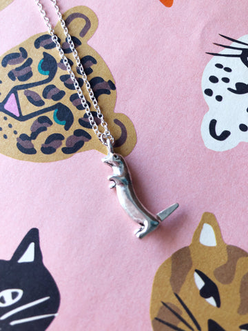 Olive Otter Necklace