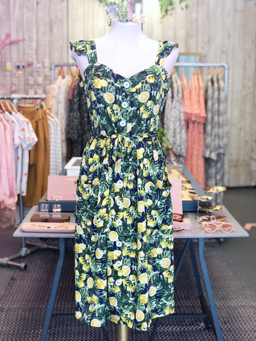 Sicilian Lemons Dress