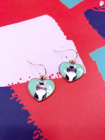 Tabby Love Earrings