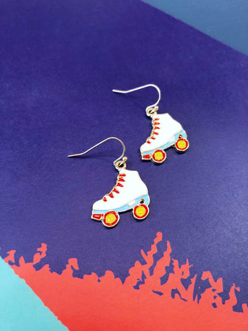 Skating Through Life Like Earrings