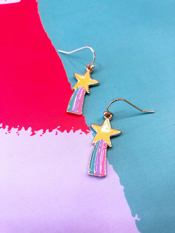 Rainbow Stars Earrings