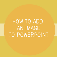 How to Insert an Image in PowerPoint