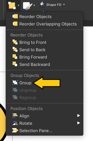 How to Group in PowerPoint