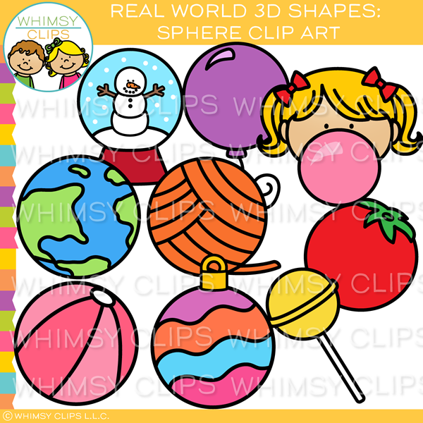 Real World 3D Sphere Clip Art