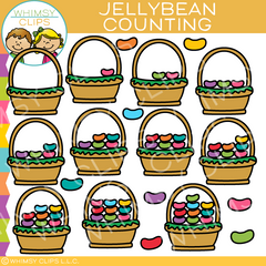 Jellybean Counting Clip Art