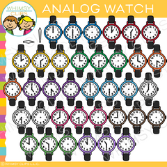 Analog Watch Clip Art