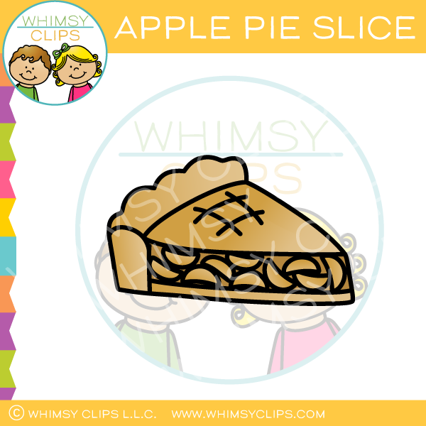 Apple Pie Slice Clip Art