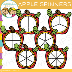 Apple Spinners Clip Art