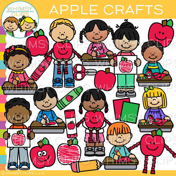 Apple Arts and Crafts Clip Art