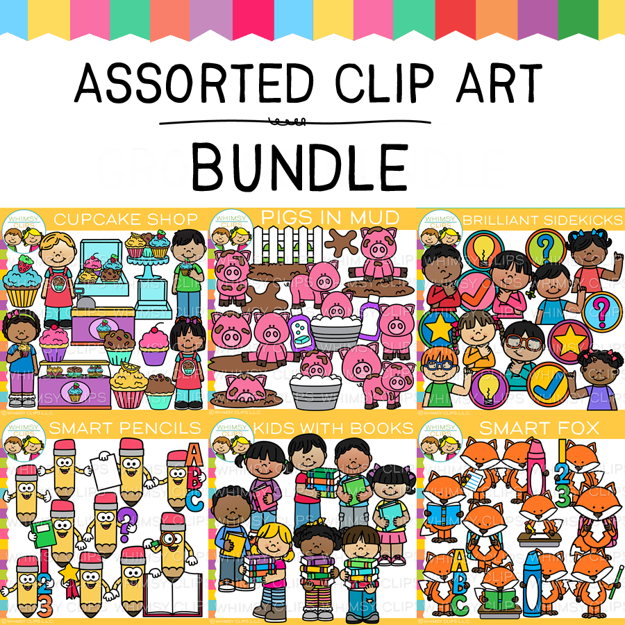 Assorted Clip Art Bundle