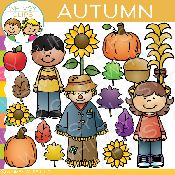 Autumn Days Clip Art