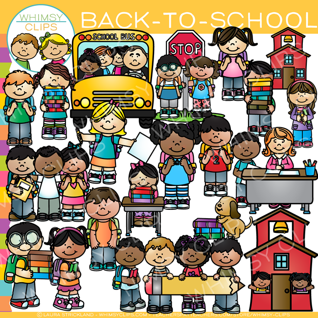 Back-To-School Clip Art