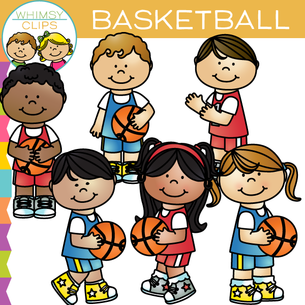 Kids Basketball Clip Art , Images & Illustrations | Whimsy ...