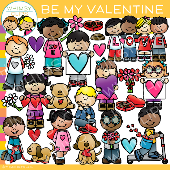 Be My Valentine Clip Art
