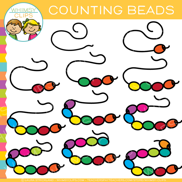 Counting Beads Clip Art