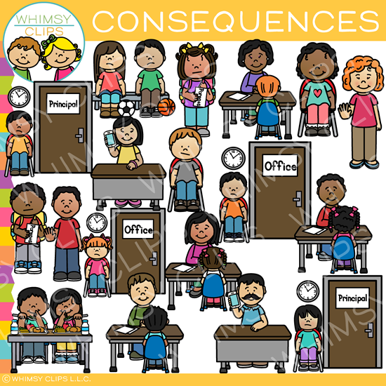 Behavior Consequences Clip Art