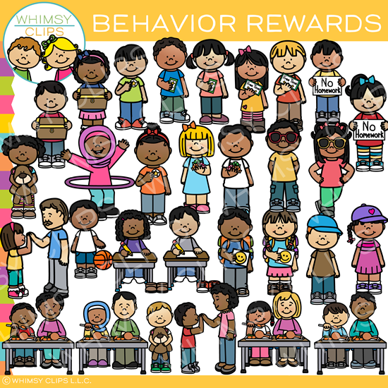 Kids Behavior Reward Clip Art