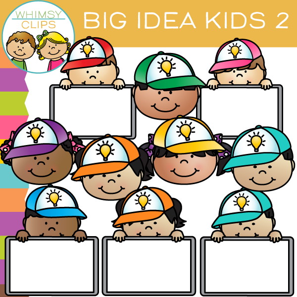 Free Big Idea Kids Clip Art - 2
