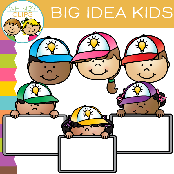 Free Big Idea Kids Clip Art
