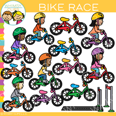 Bike Race Clip Art