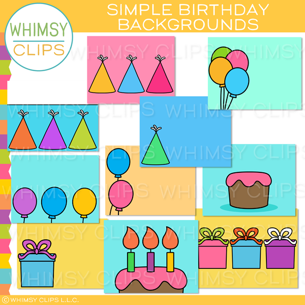 Simple Birthday Backgrounds