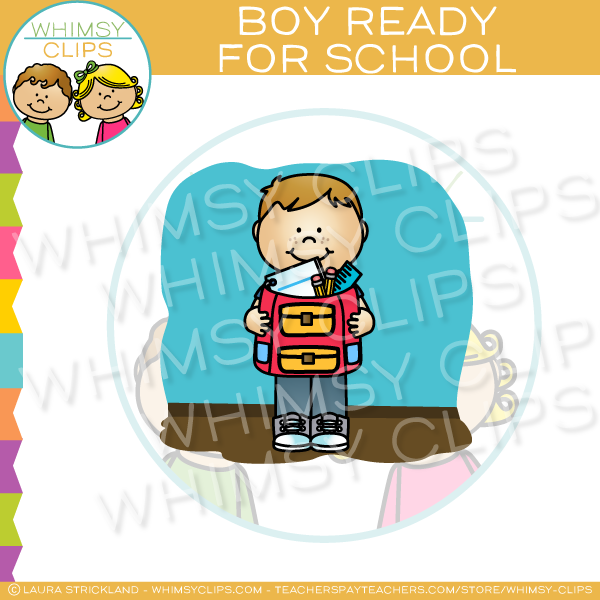 School Clip Art , Images & Illustrations | Whimsy Clips