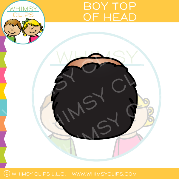 Boy Top of Head Clip Art