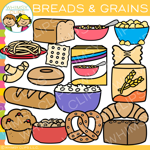 Breads and Grains Clip Art