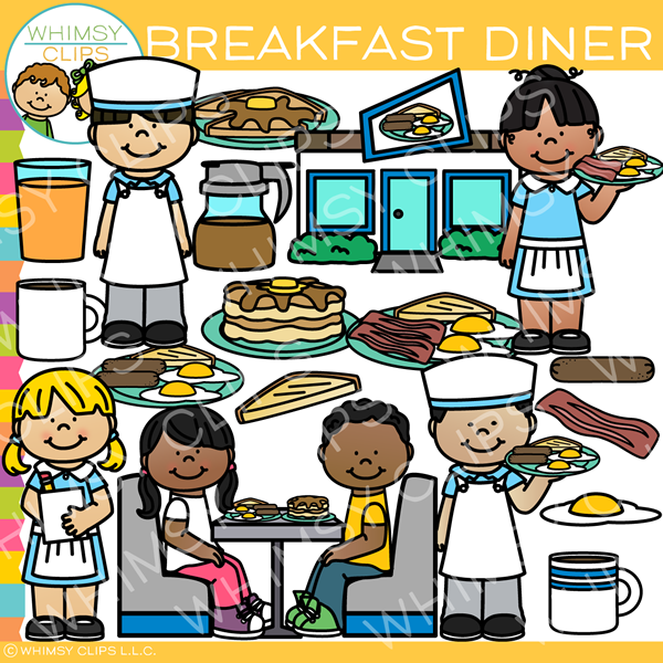 Breakfast Diner Clip Art