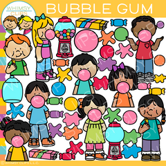 Bubble Gum Clip Art