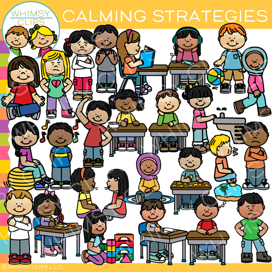 Calming Strategies Clip Art